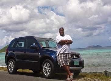 Big Sexy Car Rentals in British Virgin Islands